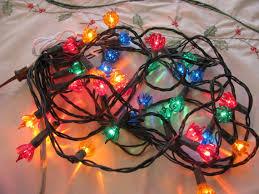 vintage 1960s flower mini christmas lights 35 bulb by gaelianna