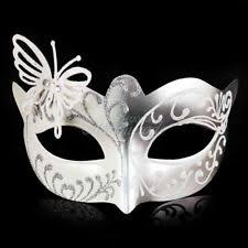 white masquerade masks for women butterfly mardi gras venetian masquerade mask for women m33111