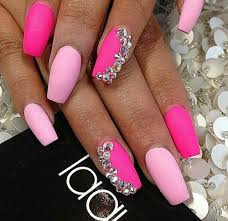 best 25 dark pink nails ideas on pinterest rock nails summer
