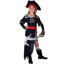 childs bucaneer pirate captain new fancy dress costume kids jack