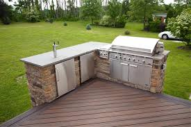 outdoor kitchen faucet terrific deck plans with outdoor kitchen with stainless steel