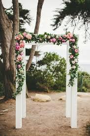wedding arches san diego whimsical outdoor san diego wedding modwedding