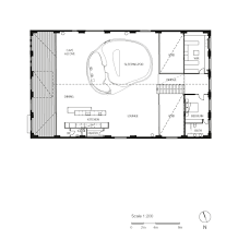 Scale Floor Plan Gallery Of Inner City Warehouse Allen Jack Cottier 30
