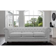tufted gray sofa home chesterfield linen tufted scroll arm light grey sofa