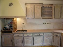 cuisine blanc cérusé cuisine blanc ceruse inspirant une cuisine intégrée relookée par une