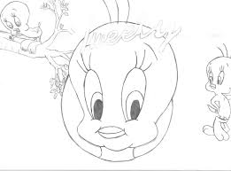 tweety coloring pages to print free coloring pages for kids