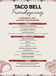 taco bell s thanksgiving menu is both hilarious and delicious
