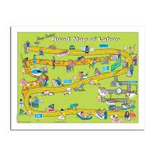 Map Pad Penny Simkin Road Map Of Labor Tear Pad
