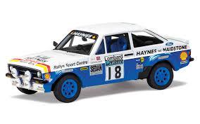 land rover italeri corgi 1 43 ford escort mk2 rac rally va12610 26 99
