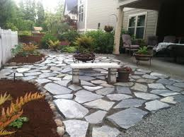 Flagstone Patio Cost Per Square Foot by Our Patio Cowboy Coffee Flagstone Gardening And Landscape