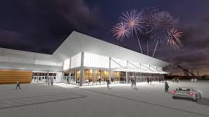 Oklahoma travel expo images Oklahoma city populous break ground on new expo hall for oklahoma jpg