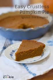 easy crustless pumpkin pie the fit cookie