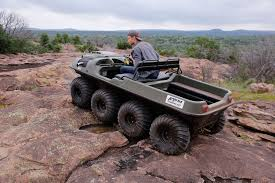 amphibious rv 2016 argo 8x8 amphibious atv review