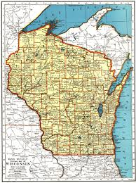 Michigan Map With Counties by Racine County Alhn