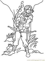 elves coloring page 04 coloring page free fantasy coloring pages