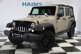 jeep willys 2016 2016 used jeep wrangler unlimited 4wd 4dr willys wheeler at haims