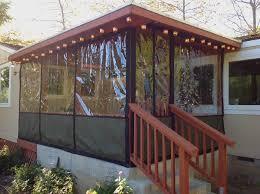 Patio Enclosure Kits Walls Only Clear Vinyl Plastic Curtain Enclosures For Porch U0026 Patio