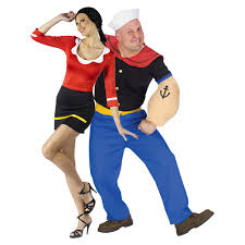 Adults Halloween Costumes Couples Halloween Costumes Happy by Olive Oil And Popeye Costume Popeye And Olive Oyl Costumes