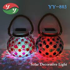 Ball Solar Lights - solar crackle glass ball lights solar crackle glass ball lights