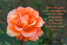 Psalms Of Praise And Thanksgiving Our Daily Blossom Part 99