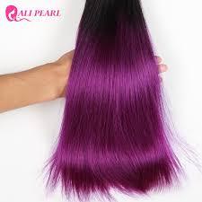 24 inch hair extensions ombre 1b purple color 3 bundles lot soft hair 10 24 inch
