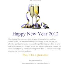 happy holidays email templates for new year 2013 html