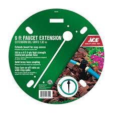 Faucet Connector Extension Ace Hardware 6ft Faucet Hose Extender Gt8587 Garden Hoses