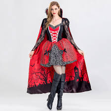 deluxe masquerade carnaval cosplay witch demon gothic fancy dress