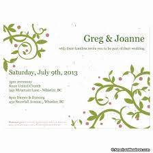 plantable wedding invitations plantable wedding invitations new do it yourself seed wedding