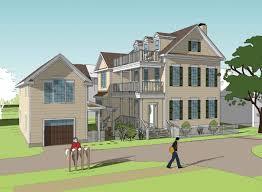 elevated charleston single house plans arts plans unique plan charleston home