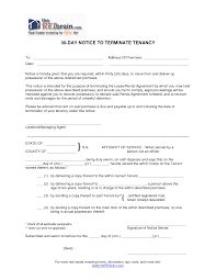 Florida Lease Termination Notice by 10 Best Images Of 30 Day Notice To Terminate Tenancy Florida 30