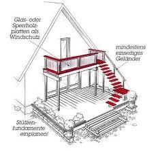 balkon mit treppe die besten 25 außentreppe ideen auf palettentreppe