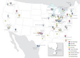 Zip Code Map Charlotte Nc Locations Novolex