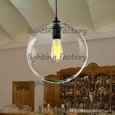 Contemporary Pendant Lighting Fixtures Modern Nordic Lustre Globe Pendant Lights Glass L Shade