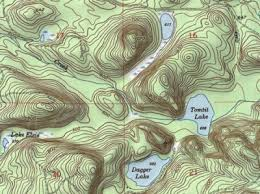 how to read topographic maps how to read a map