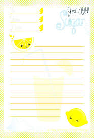free printable letter writing paper 835 best stationery images on pinterest writing papers kawaii sugary sweet citrus writing papermail artpaper goodsfree printables lemonadejournalingenvelopestationerykawaii