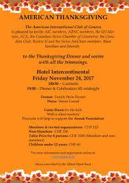 event thanksgiving celebration