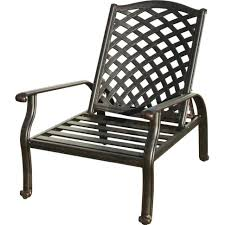 Patio Recliner Chair Lounge Chair Reclining Chair With Ottoman White Plastic Garden