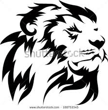 lion tattoos designs stock vector 188753345 shutterstock