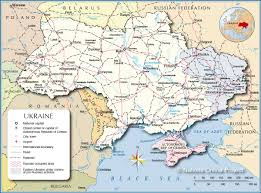 Map Of European Rivers by Political Map Of Ukraine Nations Online Project