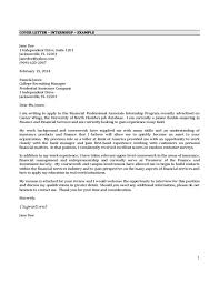 cover letter for internship how to write a cover letter for an