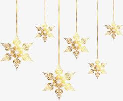golden snowflake ornaments golden snowflake