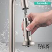 kitchen faucets seattle hansgrohe 06801 talis s variarc pull spray kitchen faucet
