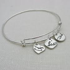 personalized bangle bracelets custom personalized bracelets silver gold charm custommade