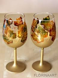 thanksgiving wine glass painting class the of wine