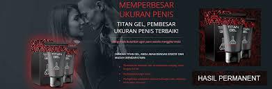 toko resmi jual titan gel asli di depok antar gratis