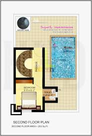 1500 Sq Ft House Floor Plans 1500 Sq Ft House Plan With Swimming Pool Home Plans