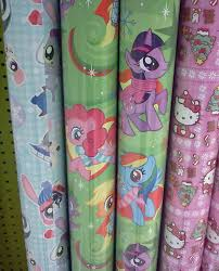 my pony wrapping paper equestria daily mlp stuff pony wrapping paper