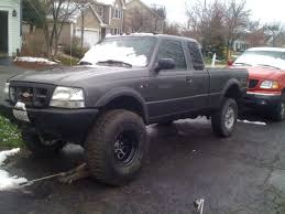2001 ford ranger suspension lift kit can i fit 36 or 35 inch tires on my ford ranger with a 5 inch lift