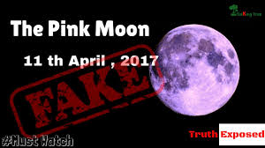 Pink Moon Pink Moon 2017 Totally Fake Truth Exposed Youtube